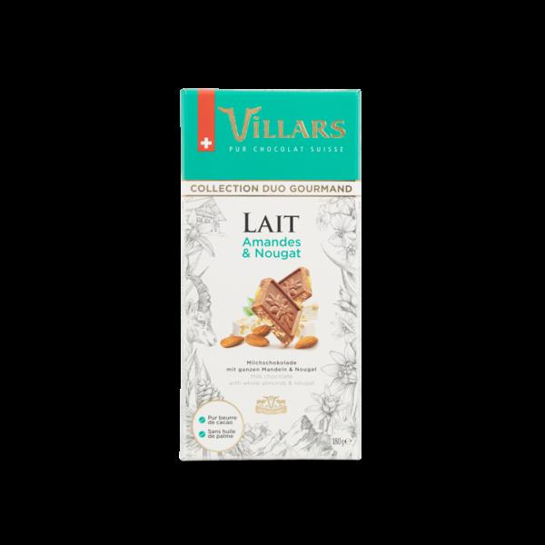 Chocolat au lait Amandes & Nougat