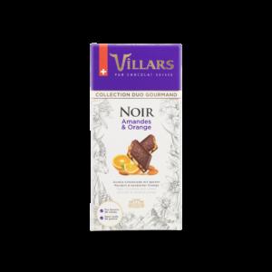 Chocolat Noir Amandes & Orange