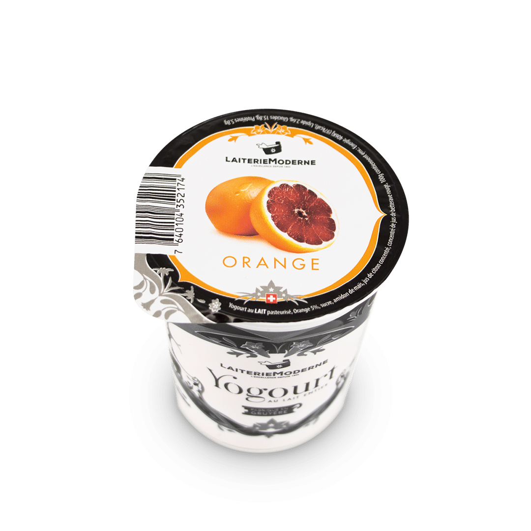Yogourt ORANGE Sanguine 180g