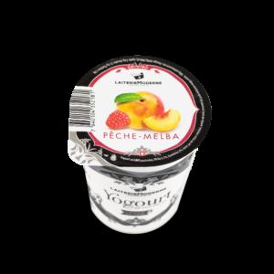 Yogourt Pêche-Melba