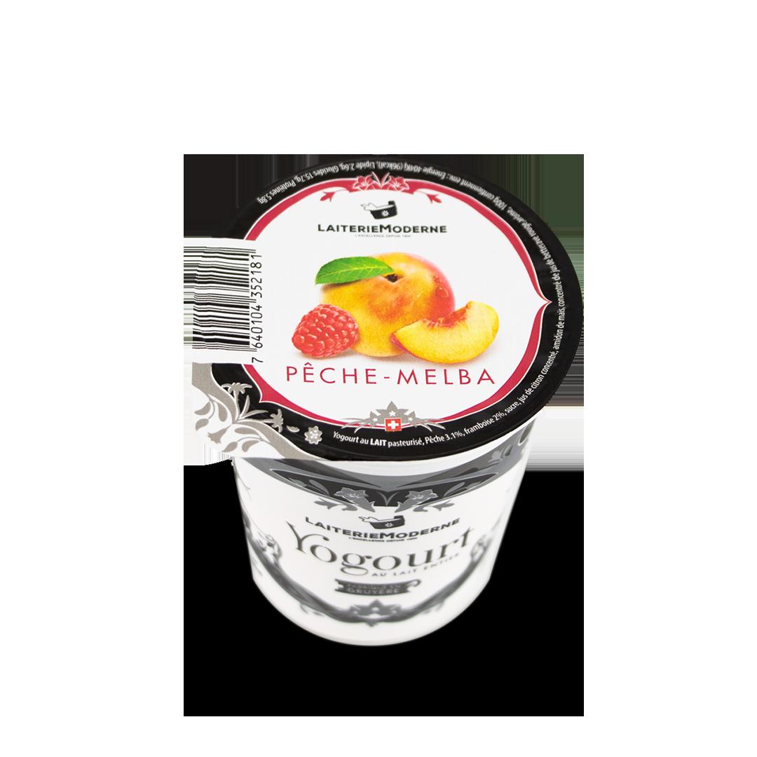 Yogourt PECHE-MELBA