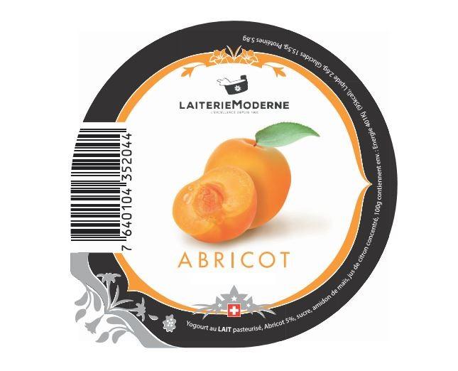Yogourt ABRICOT 180g