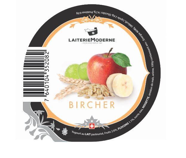 Yogourt BIRCHER 180g