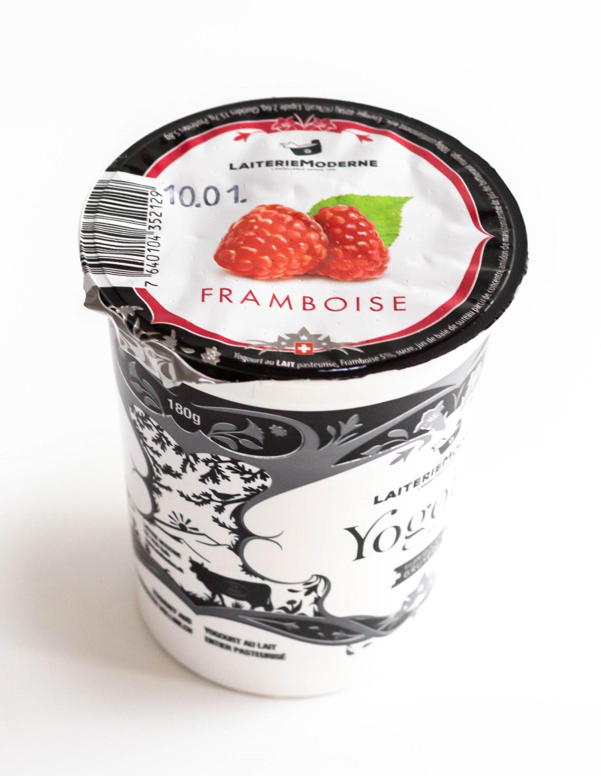 Yogourt FRAMBOISE 180g