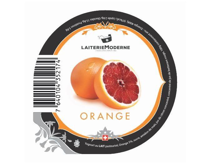 Joghurt Orange 180g