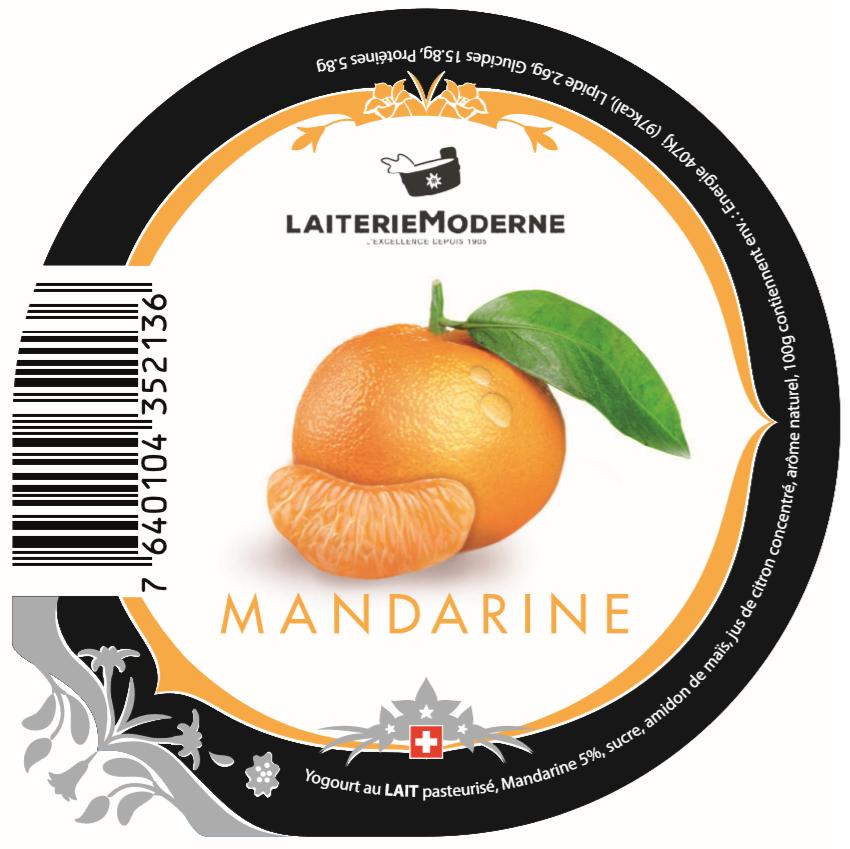 Yogourt MANDARINE 180g