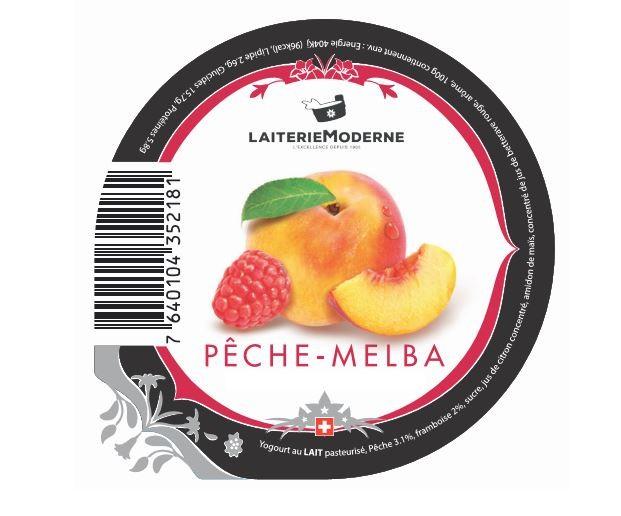 Yogourt PECHE-MELBA 180g