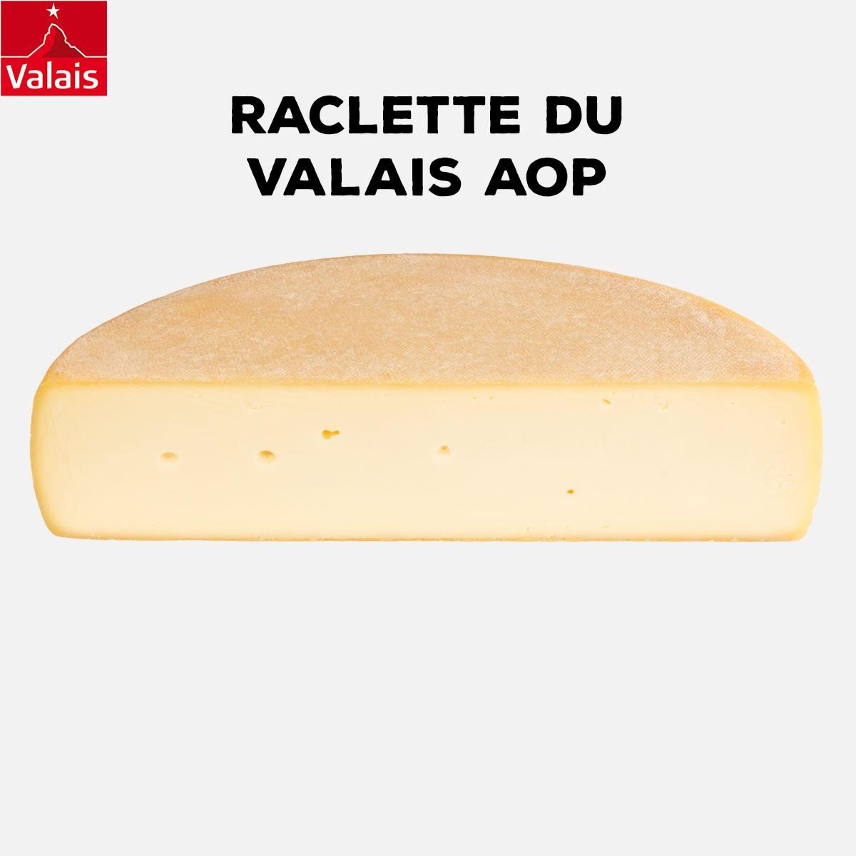 Raclette du valais AOP | 1/2 Meule