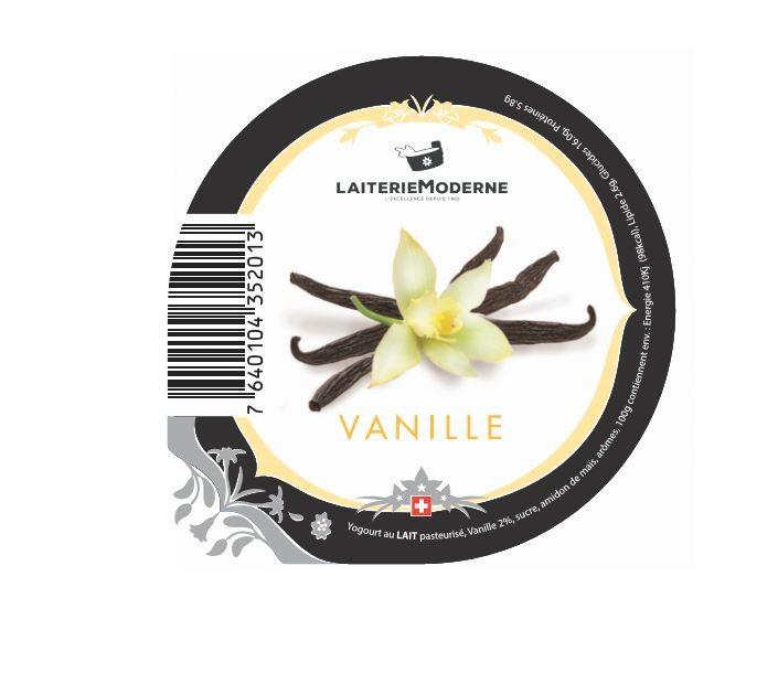 Yogourt VANILLE 180g
