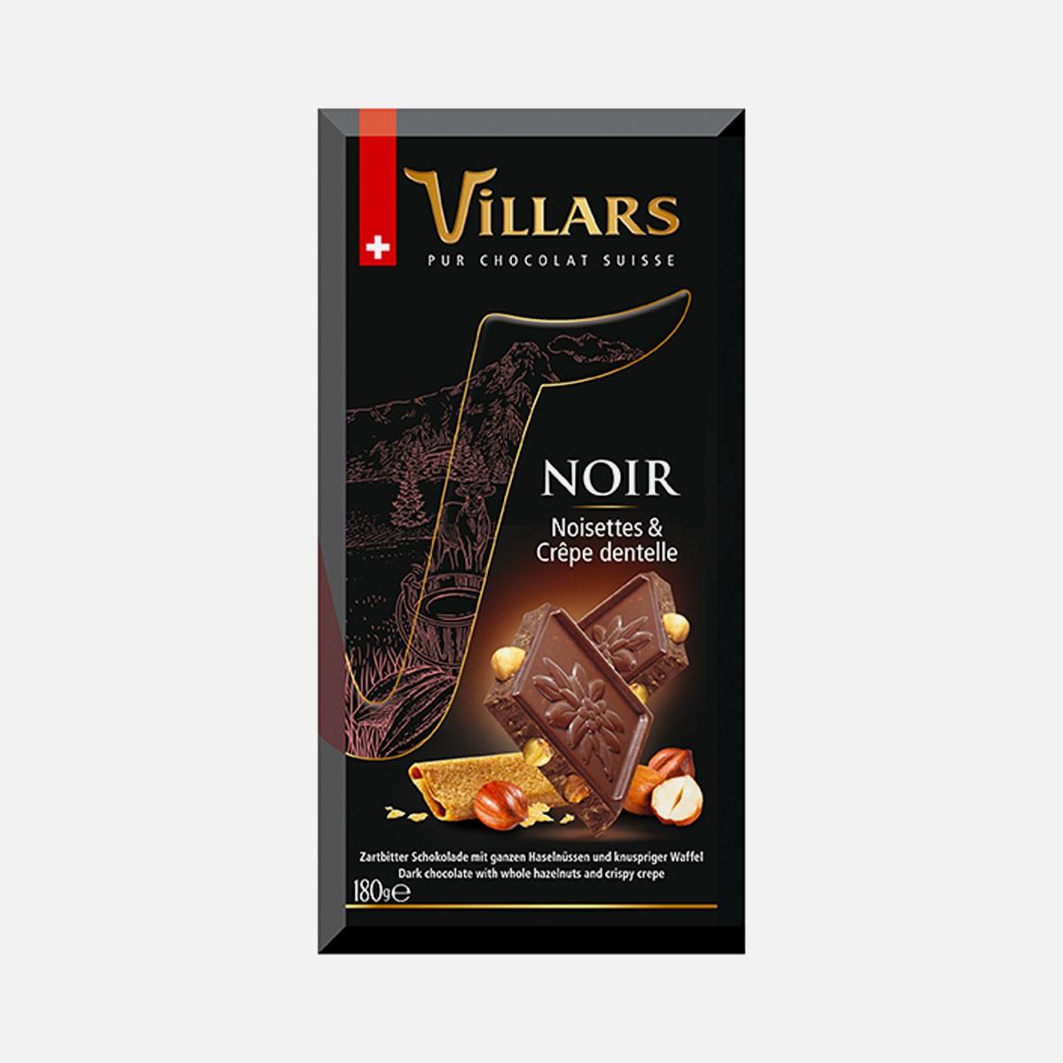 VILLARS Noisettes & Crêpe dentelle