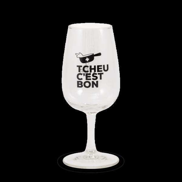 """Verres """"Tcheu c'est bon"""""""